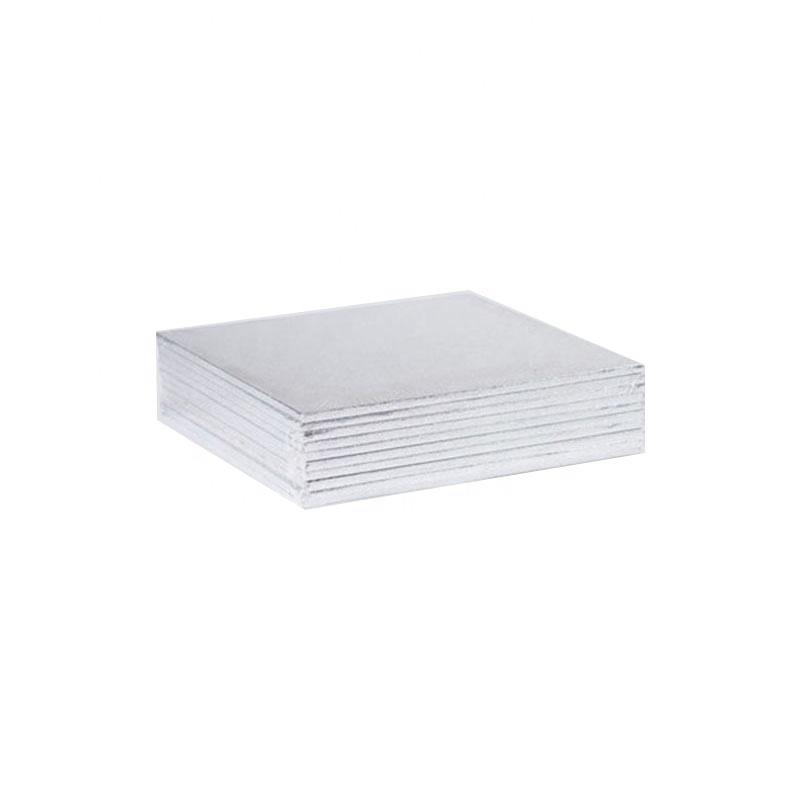Wholesale silver mdf cake base cake board