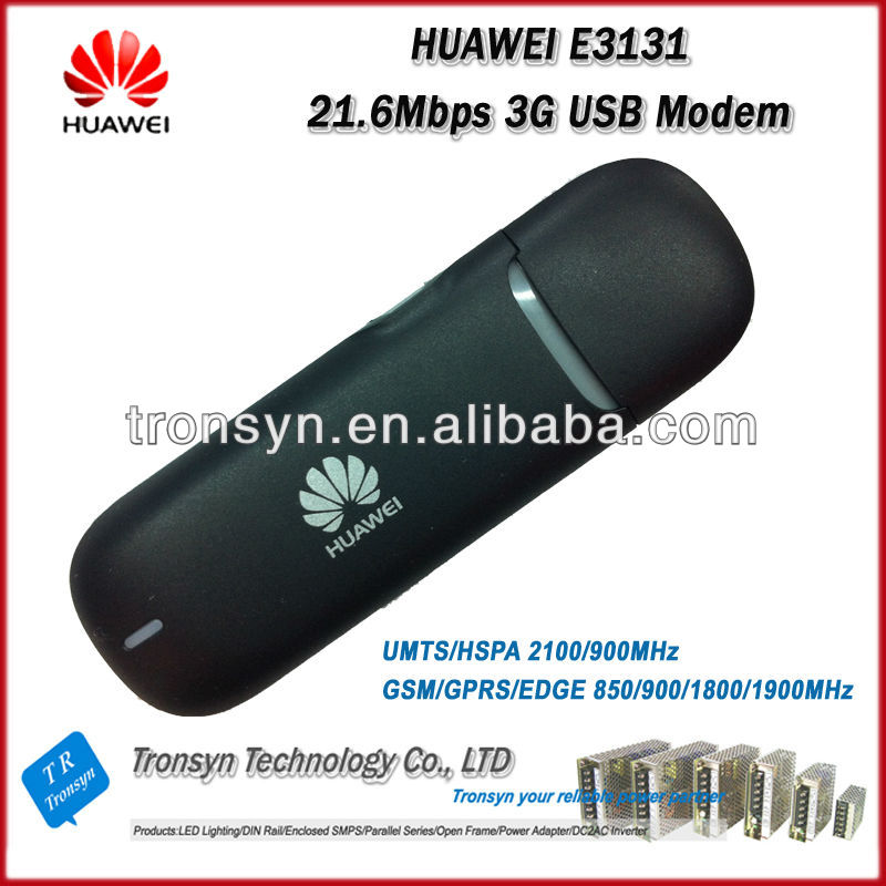 Brand New Original Unlocked HSPA+ 21.6Mbps HUAWEI E3131 3G Dongle And 3G USB Modem