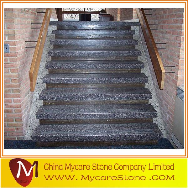 Популярная интерьерная гранитная плитка и лестница