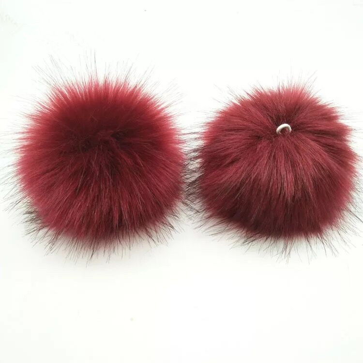 Fashion Faux Fur Pompom for Hat and Bag
