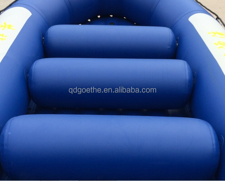 PVC Hull Material and CE Certification inflatable raft fishing boat for sale