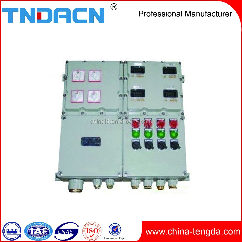 Atex Industrial Box 3 Phase Power Electrical Distribution Box Size High Quality Electrical Panel Box Sizes
