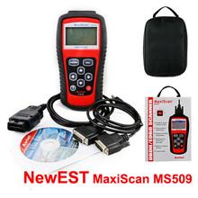 Hot! New Brand Autel MaxiScan Car Code Reader Autel MS509 OBDII OBD auto OBD2 Scanner Maxiscan MS 509 Automotive Diagnostic Tool