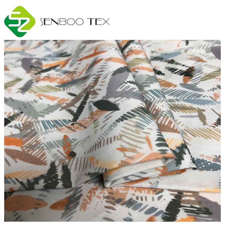 Высококачественная ткань из органического хлопка с принтом на заказ, г/м2