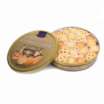 Top quality 908g Danish Butter Cookies halal fortune cookie Biscuits factory