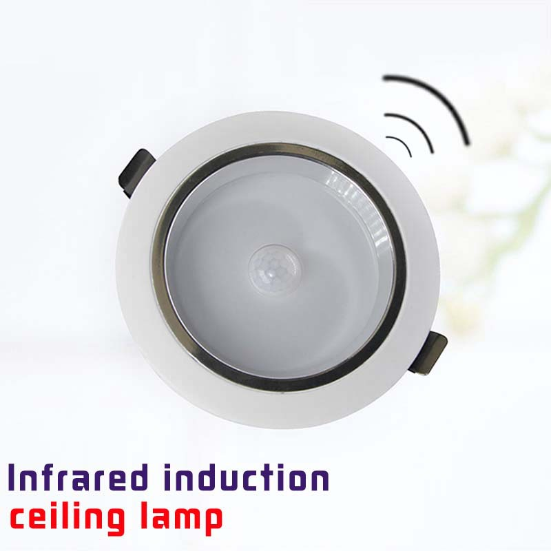 Bathroom Lighting Motion Sensor: LED Motion Sensor Ceiling Light Useful Kitchen Ceiling