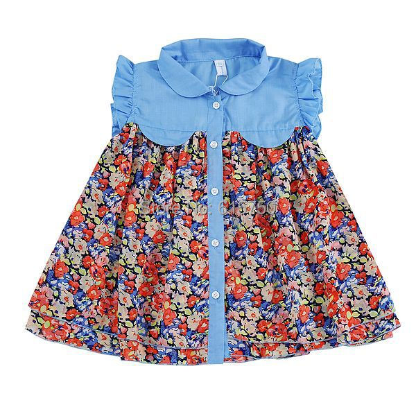 7fc53a610 2019 Baby Girls Dress 2015 Summer New Brand Casual Girl Dress ...
