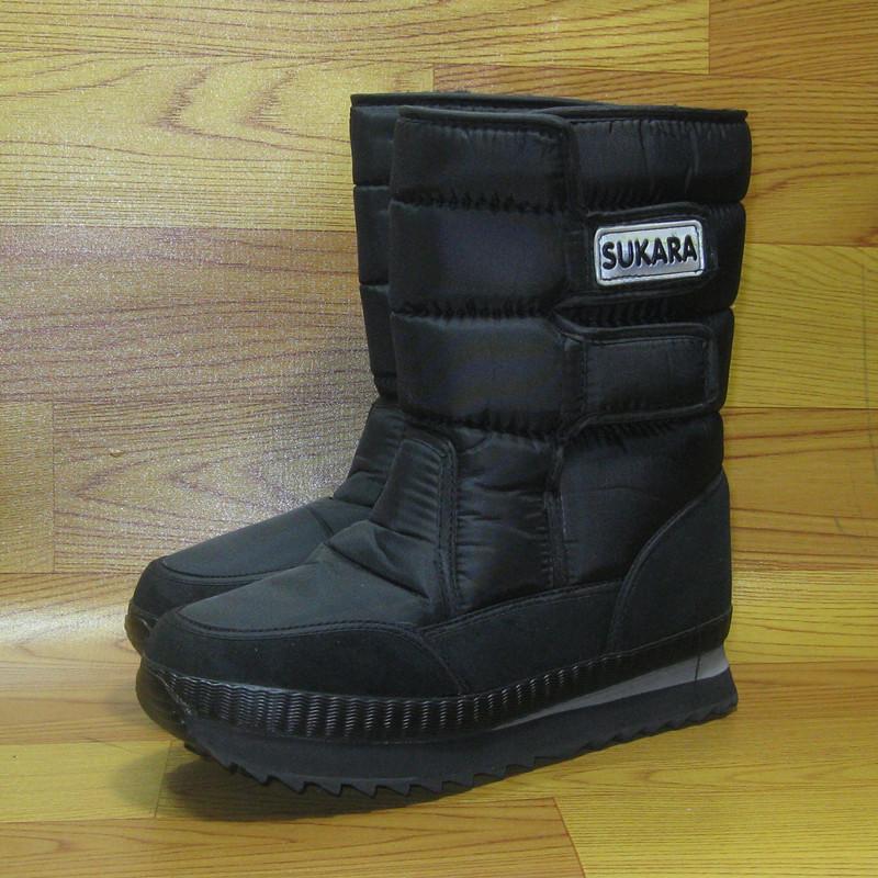 Free Shipping Winter Skiing Man Boots Waterproof Slip