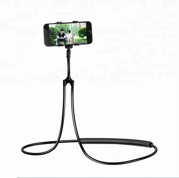 Hanging on Neck Cell Phone Holder Universal Mobile Phone Stand DIY Free Rotating for Multiple Functions lazy neck holder