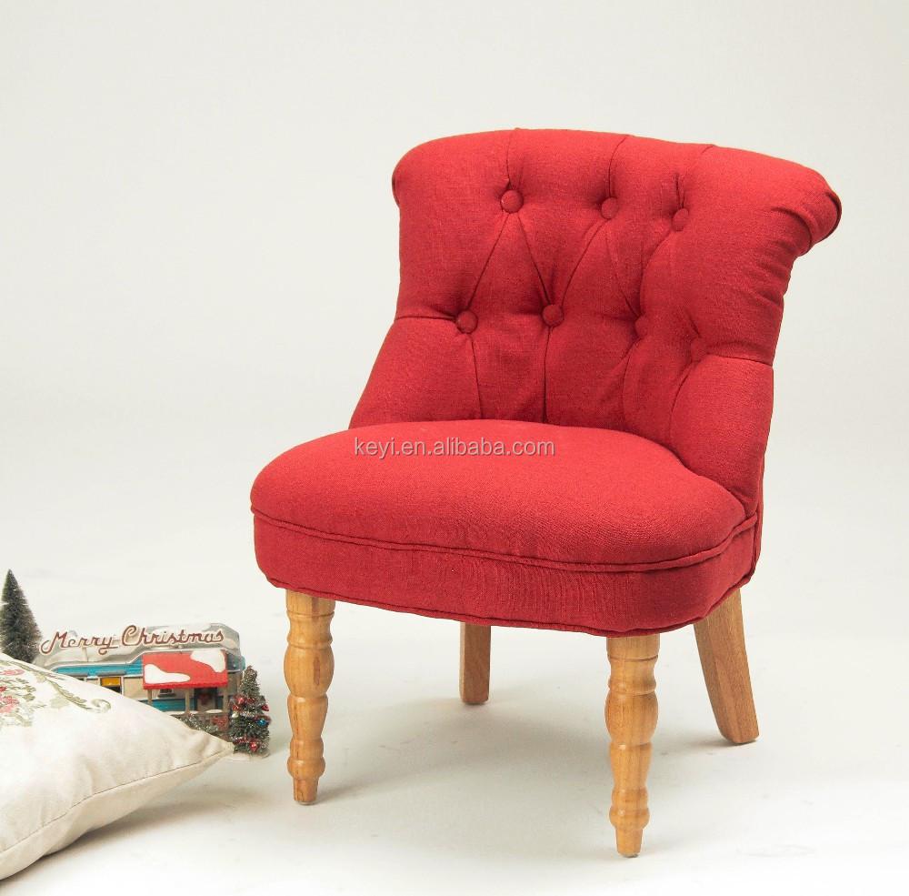 Children's Room Furniture Button Design Kids Chair/children