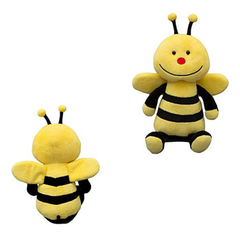 Plush Made Honey Bee Flying Stuffed Toy With Wings