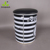 customize printed metal bucket bar stool height adjustable with leather pad