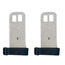 1 пара перчаток для поднятия веса S M L рукоятка из синтетической кожи защита для гимнастики защита ладоней перчатки(China)