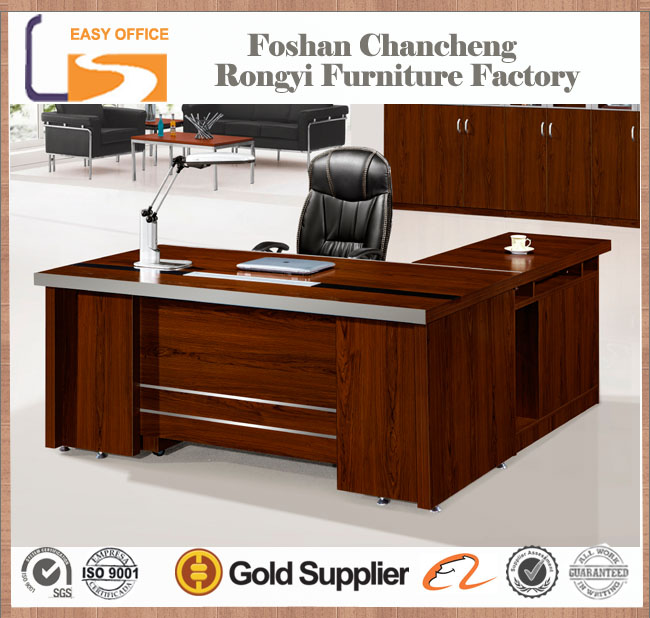 Hot sale modern wooden l-type l-shape office table design, View office  table design, Easy Office Product Details from Foshan Chancheng Rongyi  Furniture Factory on Alibaba.com