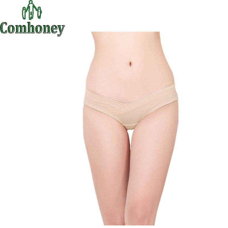 Cotton Maternity Panties for Pregnant Women Clothes Pants for Pregnant Women Low waist Maternity Underwear Maternity