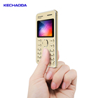 1.8 inch Dual SIM dual standby Mini Polymer Battery Card Phone Mobile Phone