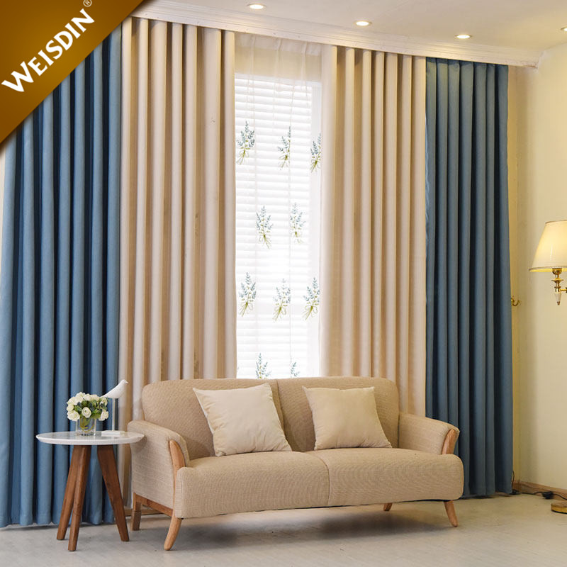 2017 Latest Curtain Designs Luxury Plain Solid Color Home Office Hotel Window Curtain For Living Room Buy Window Curtain Window Curtain Window Curtain Product On Alibaba Com