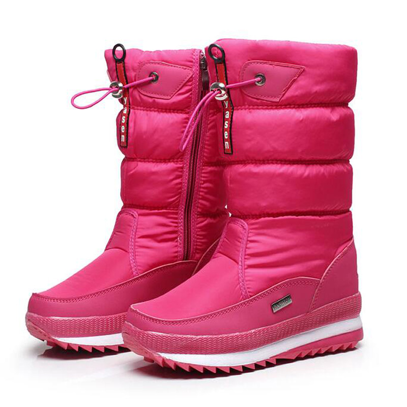 New 2016 women's boots winter women snow boots thick