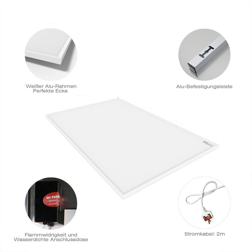 Byecold Radiant Heater 900W CE TUV GS 120x70cm Far Infrared Heating Panel For Home Yoga