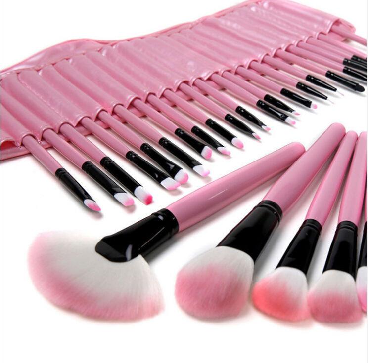 Makeup brushes 32 pcs Superior Professional Pink Cosmetics make up brush set Woman's pincel kabuki kit makeup brushes maquiagem