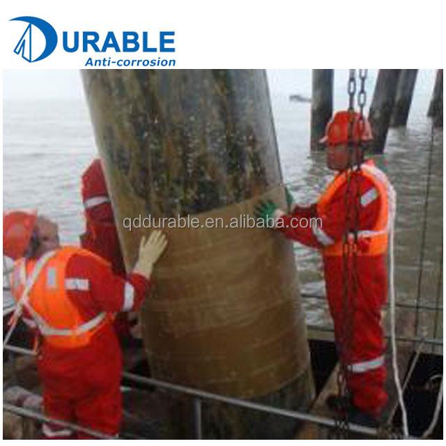 Морская ветроэнергетика и морская платформа, стальная Антикоррозийная нефтяная ленточная система с праймером и крышкой