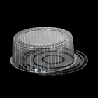 Container Plastic Plastic Eco-friendly Disposable Round Packaging Container Plastic For Cake