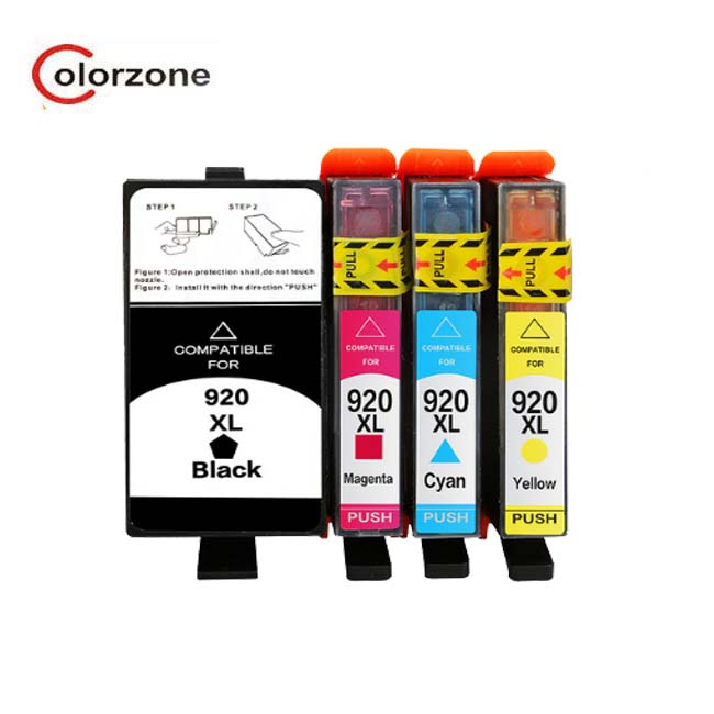 Compatible Ink Cartridge HP 920 XL For Printers Officejet 6500AIO 6500W
