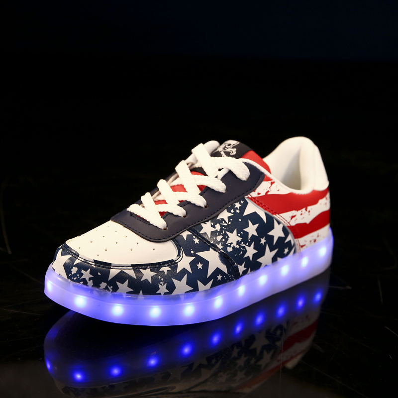 Adidas Neon Light Shoes