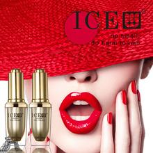 ICE 4pcs 1 Base Coat 1 Top Coat 2 Colors Nail Gel Fashion Soak Off UV