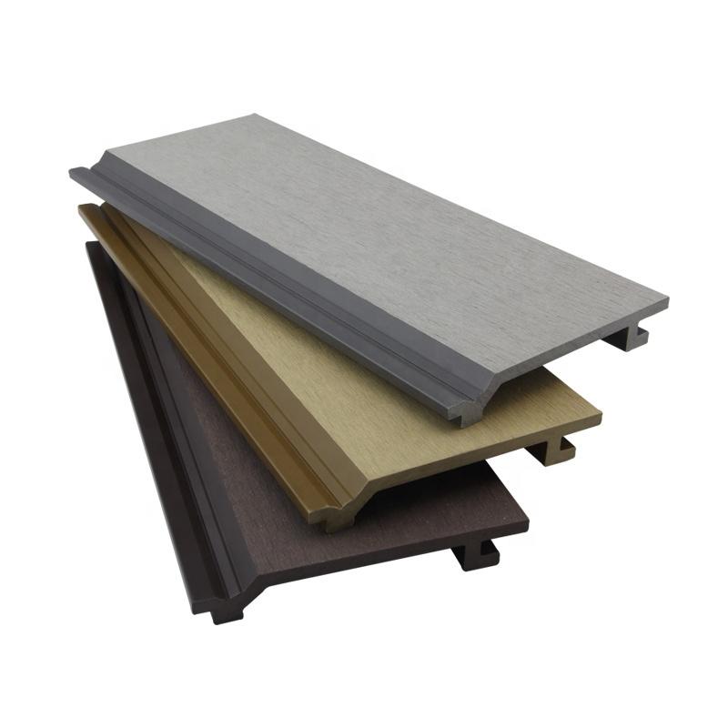 Наружная стеновая панель WPC, композитная деревянная облицовка