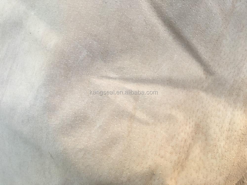 Various color of genuine pig under split leather for shoes lining garments furniture etc
