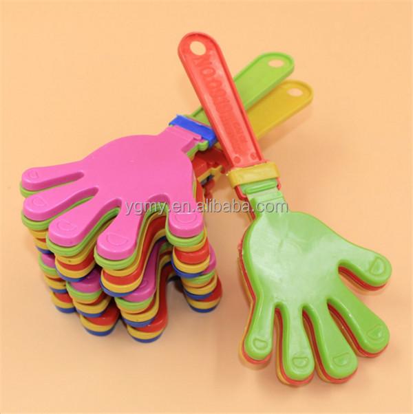 Хлоп для Олимпийских игр, футбольная игра, шумогенератор, детская игрушка для домашних животных  Пластиковая трещотка в виде руки рука-трещотка cheer leading хлопушка для Олимпийских игр, игры в футбол, шумовка, игрушка для малышей, домашних животных