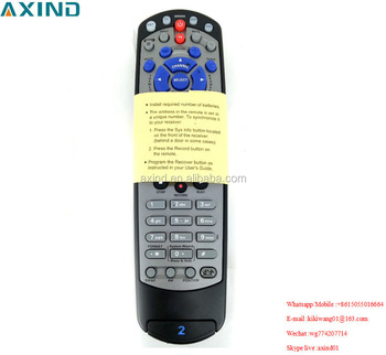 Dish TV remote control for Dish-Network for DISH211 Satellite Receiver 21.1 Devices