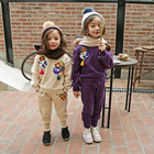 Stock Children Clothing Kids Clothes Winter Girl In Snowsuit