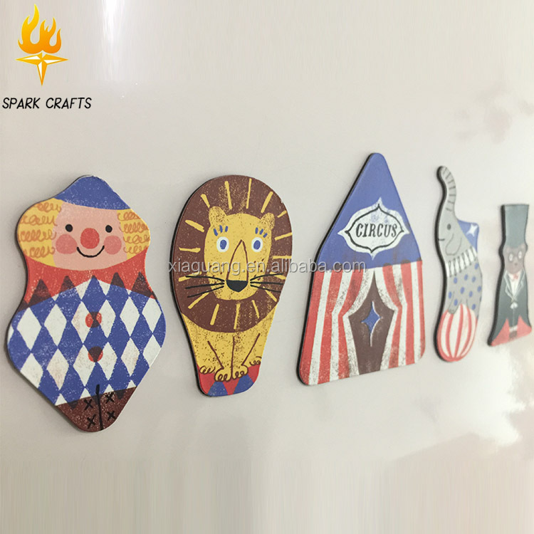 Promotional Personalized Custom Cartoon Refrigerator Paper Fridge Magnet