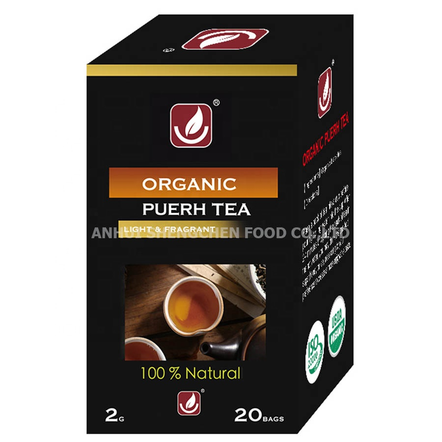 100% Natrual Organic Puerh Tea Ripe Tea / Bagged Packing / Factory Directly Supply With Best Price - 4uTea | 4uTea.com