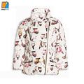 YKYY YAKUYIYI New Winter Jacket Cartoon Print Brand Children Jackets Thicken Coat Windbreak Warm Outwear Kawaii