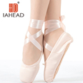 2016 Hot Child and Adult ballet pointe dance shoes ladies professional ballet dance shoes with ribbons