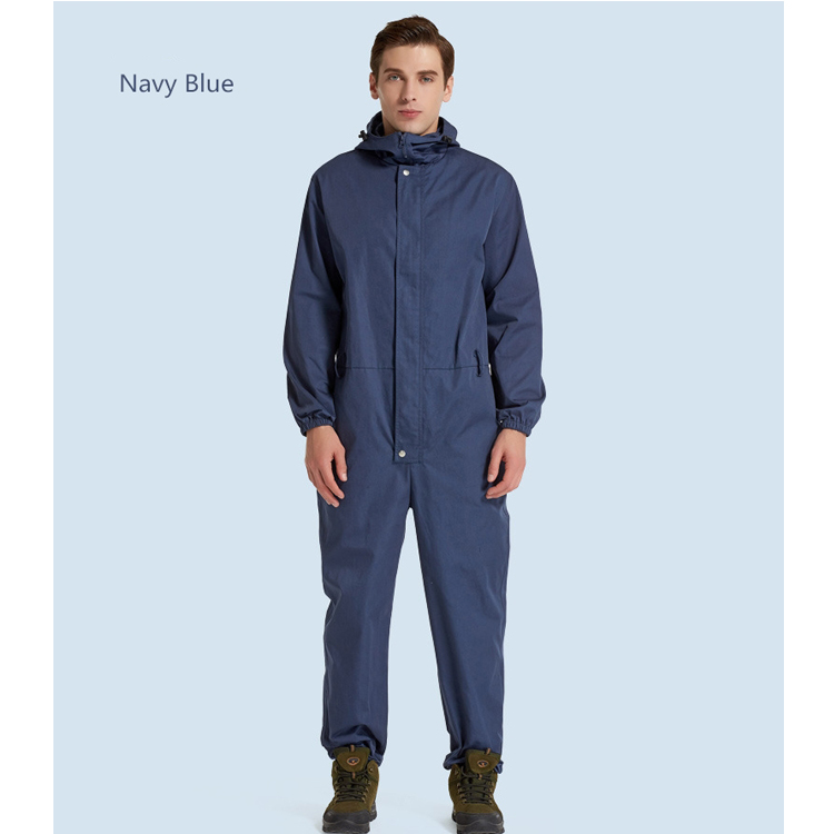 Industrial Factory Worker Uniforms Poly-cotton Work Uniform Coverall - KingCare | KingCare.net