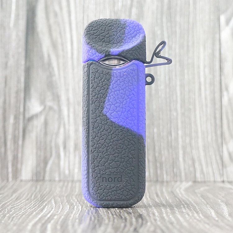 Lovekeke, декоративный защитный чехол, силиконовый чехол с ремешком и крышкой для комплекта nord Pod Vape