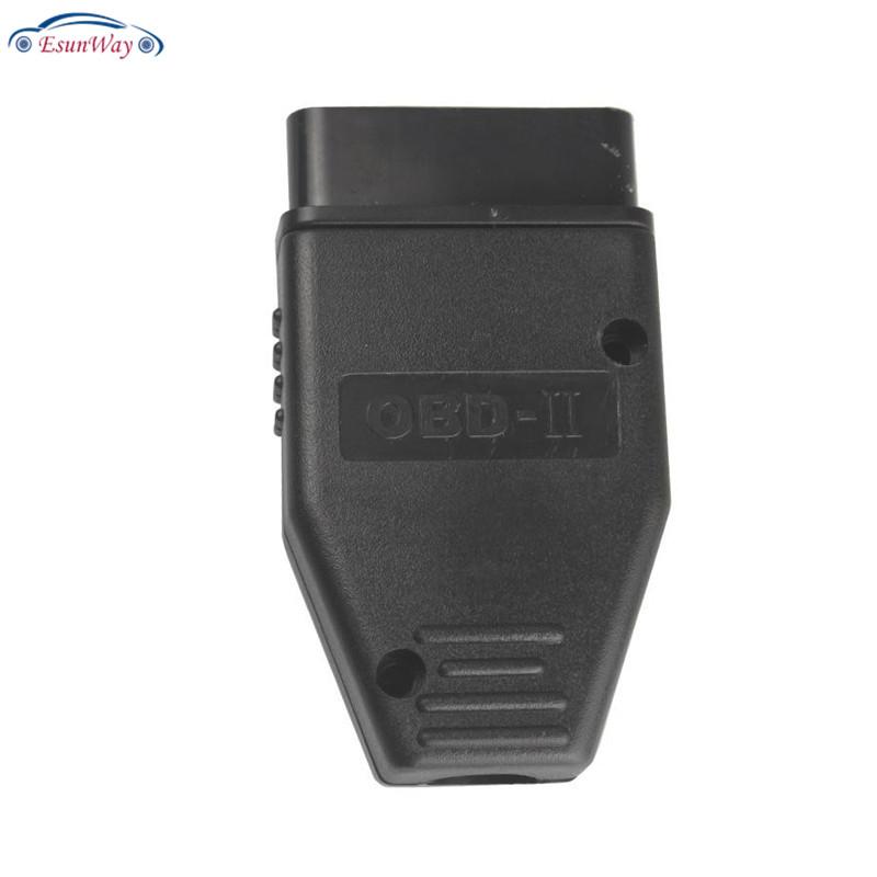 16-контактный Штекерный разъем OBD-порта OBD2, адаптер OBD II, соединитель с PCB, SR диагностический инструмент