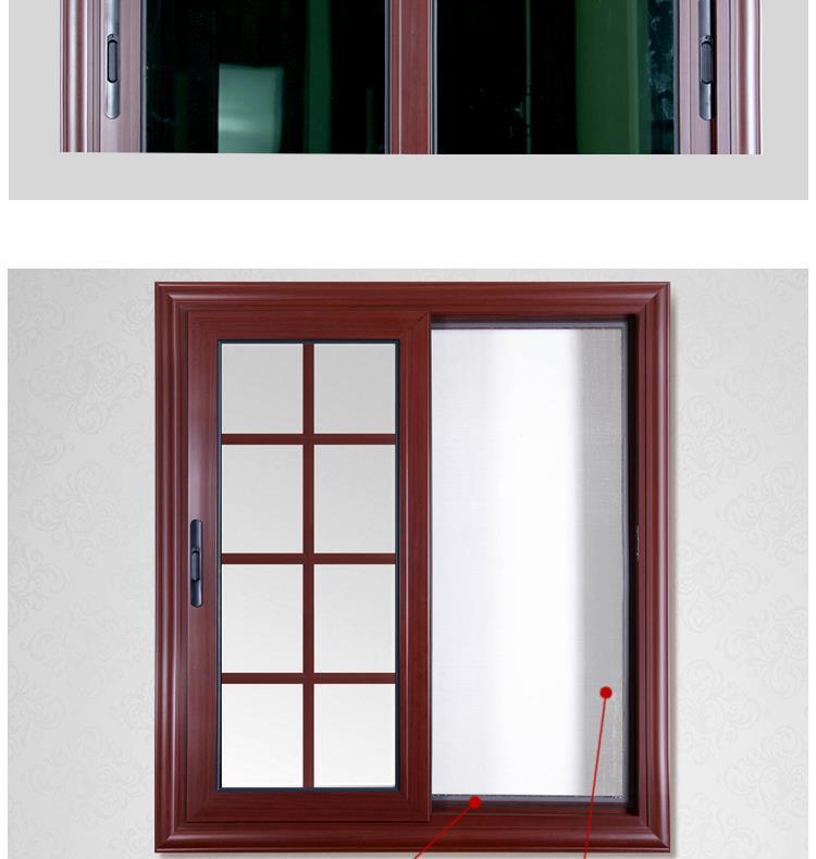 Rogenilan 88 1 4mm Aluminium Hollow Metal Sliding Standard Bathroom Window Size Buy Standard Bathroom Window Size Bathroom Window Size Sliding