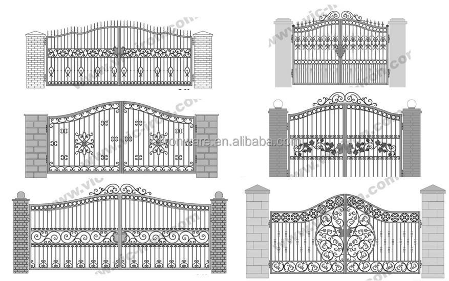 Simple House Steel Main Gate Design Buy Steel Main Gate