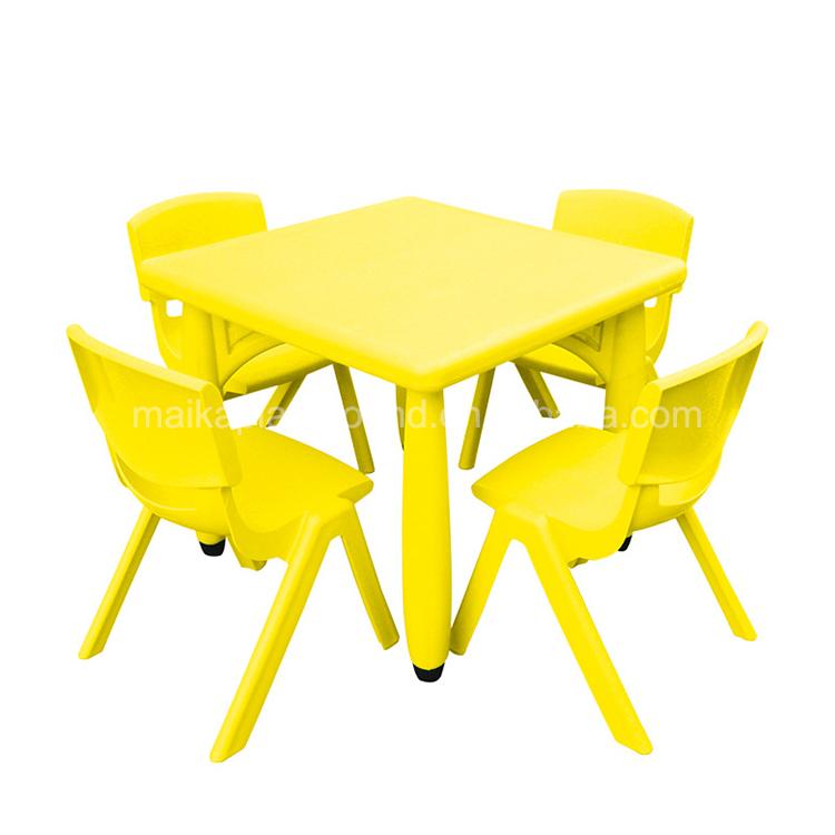Мебель для детского сада, пластиковый стол в форме Луны, детский пластиковый стол, детский пластиковый стол