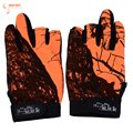 Outdoor Gloves High Quality Anti slip Fishing Gloves Breathable Wear Resistant 3 Low Cut Fingers Fishing
