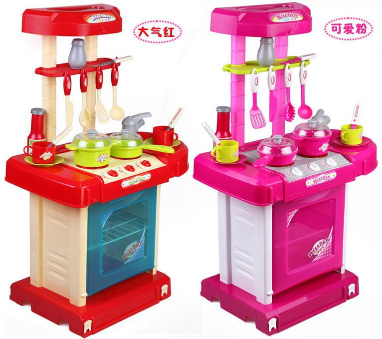 Play Kitchens On Sale: Hot Sale Toy Set Tableware Child Kitchen Toys Baby