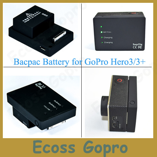 2280 Mah High Capacity GoPro Hero3/3+(plus)  Bacpac Battery For Gopro