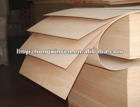 5mm Flexible Birch Plywood Bendable