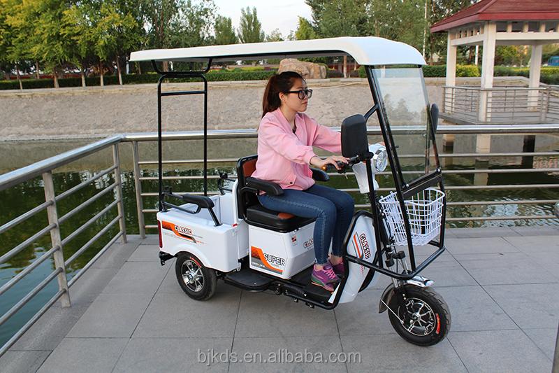 Лидер продаж, 3 трицикл трехколесный грузовой погрузчик 48В одиночный сиденья трехколесный велосипед Электрический трехколесный велосипед для людей с ограниченными возможностями и пожилыми людьми