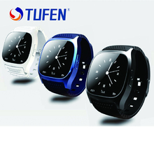 Waterproof Inteligent M26 Bluetooth V4.0 V4.2 Sync Smart Watch Wearable Devices connect For Android Phone PK GT08 DZ09 GV18 A20S